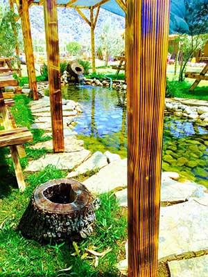 Kanatlı bahçem mangal keyfi